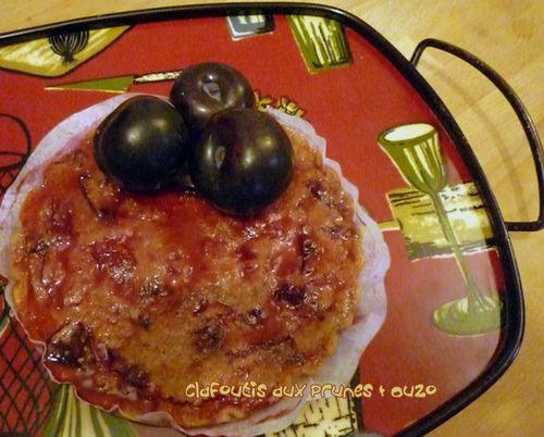 Clafoutis Prunes & Ouzo