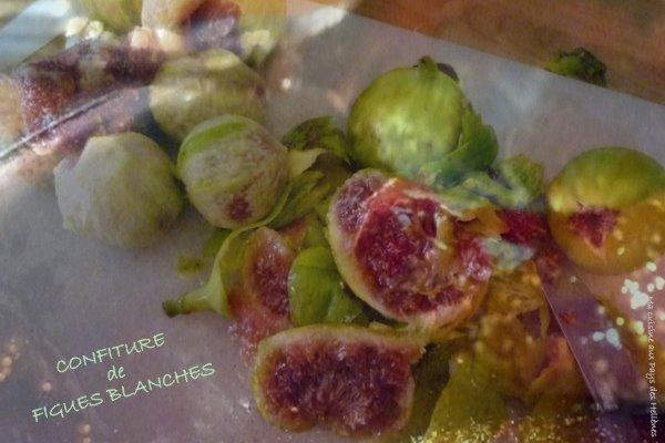 Confiture de figues blanches le nez dans les casseroles - Confiture de figues blanches ...