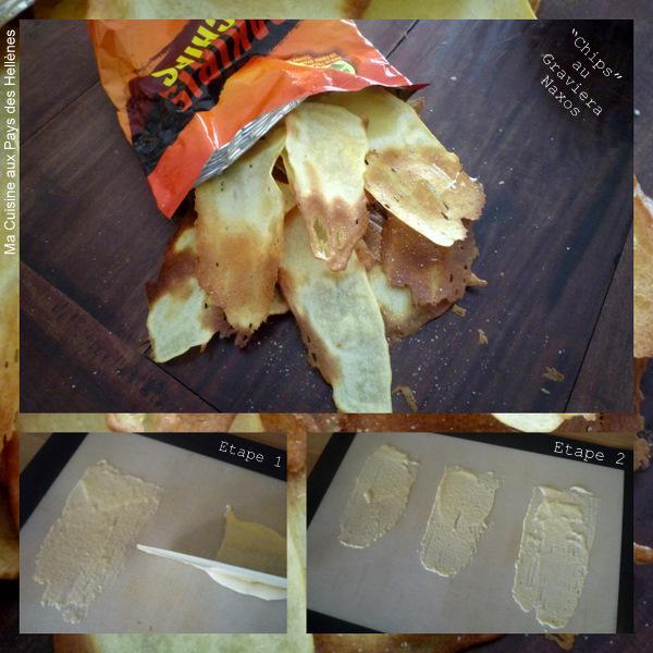 Chips Graviera de Naxos