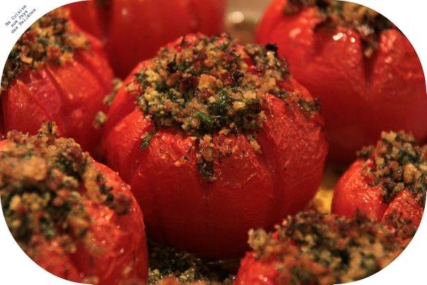 Tomates croustillantes