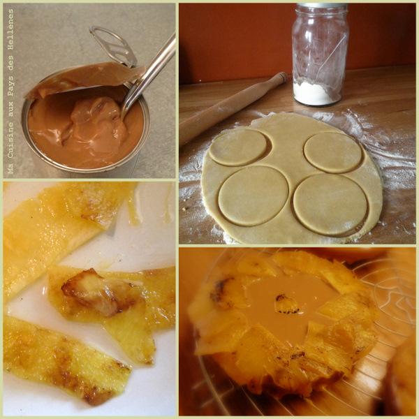 Tarte Caramel Ananas